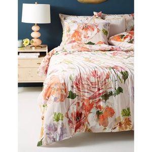 Anthropologie x Helen Dealtry Velvet Garden Quilt